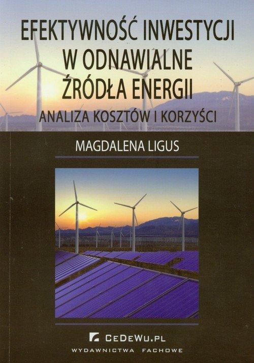 Efektywność inwestycji w odnawialne źródła energii