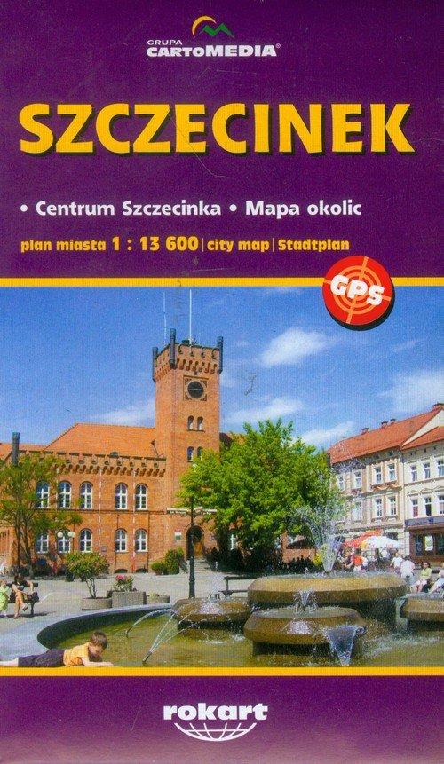 Szczecinek plan miasta