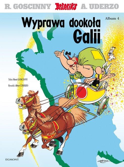 Asteriks Wyprawa dookoła Galii Tom 4