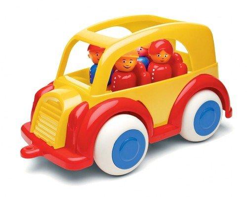 Samochód osobowy z figurkami