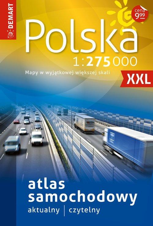 Polska Atlas samochodowy 1:275 000