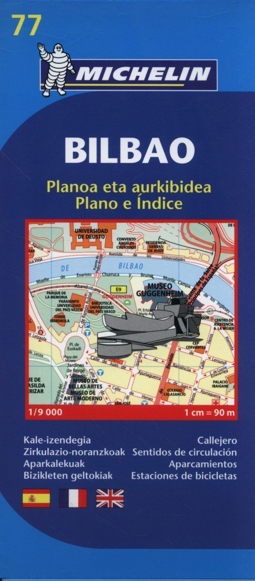 Bilbao Mapa 1:9000