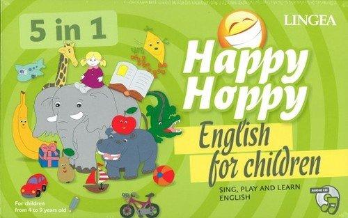 Happy Hoppy English for children 5w1 Gry i zabawy z angielskim
