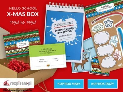 Angielski Gramatyczny Bazgrolnik SMALL X-MAS Box