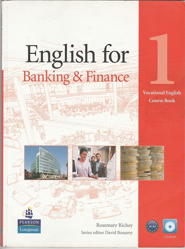 English for Banking & Finance 1 vocational english course book