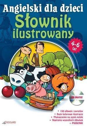 Angielski dla dzieci - Słownik ilustr. 4-6  EDGARD