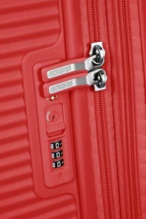 Bagaż  SOUNDBOX SPINNER 67/24 TSA EXP CORAL RED