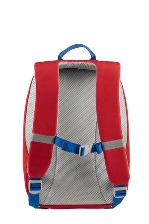 Plecak posiada zapięcie piersiowe i szelki w kształcie litery s , co uniemożliwia zsuwanie się szelek z ramion