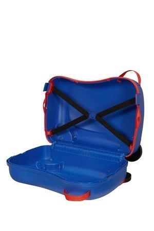 Bagaż posiada dwie części do pakowania, jedna część posiada pasy przytrzymujące ubrania