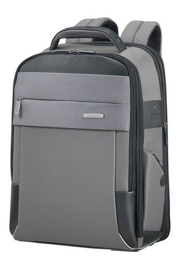"""Plecak na laptopa 15,6"""" wykonany z nylonu i poliestru oraz poliuretanu"""