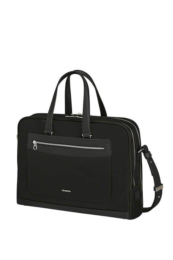 """Torba/ Torebka damska na laptopa 15,6"""" wykonana z wysokiej jakosci nylonu z wykończeniami z poliuretanu"""