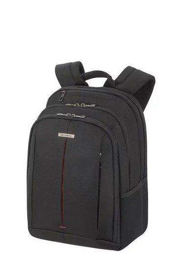 """Plecak na laptopa 14,1"""" wykonany z poliestru z bocznymi siatkami na butelkę"""