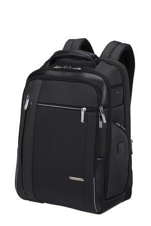 """Plecak na laptopa 17,3"""" wykonany z poliestru i nylonu"""