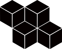 Mozaika Nero Romb Hexagon 20,4x23,8
