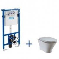 Zestaw podtynkowy Duplo + miska WC podwieszana Nexo Rimless A89009000B