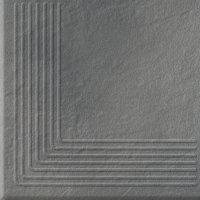 Solar Grey Steptread Corner 3d 30x30