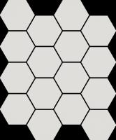 Mozaika Grys Hexagon 22x25,5