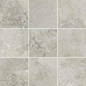 Quenos Light Grey Mosaic Mat Bs 29,8x29,8