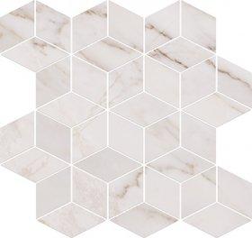 Carrara Mosaic White 28x29,7