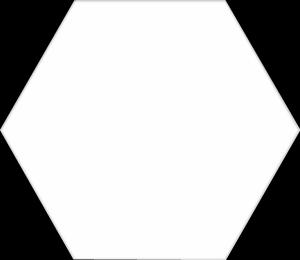 Codicer Basic White Hex 22x25