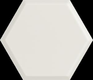 Woodskin Bianco Heksagon Struktura A 19,8x17,1