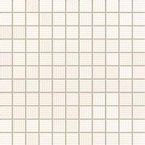 Indigo Biały Mozaika 30x30