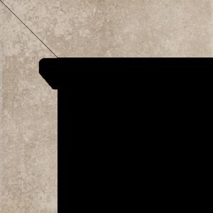 Viano Beige Cokół 2 El. Lewy 8,1x30