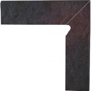 Semir Rosa Cokół Schodowy Dwuelementowy Strukturalny Prawy 30x8,1x1,1