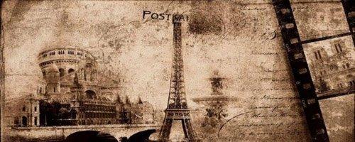 Postcard Beige Inserto 3 20x50