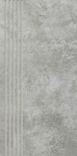 Paradyż Scratch Grys Stopnica 29,8x59,8
