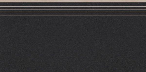 Cambia Black Lappato Stopnica 29,7x59,7