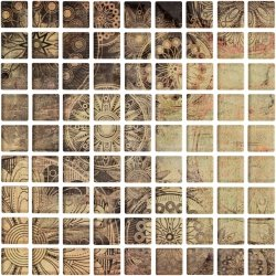 CERAMIKA KOŃSKIE Ottavio glass mosaic 25x25 G1. szt