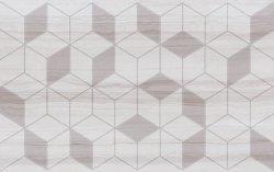 CERAMIKA COLOR arleta white dekor 25 x40 m2 g1