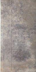 PARADYZ viano grys stopnica prosta 30x60 g1