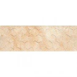 CERAMIKA COLOR arena cream hexagon 25x75 m2 g1