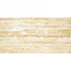 CERAMIKA SANTA CLAUS travertine dark beige shiny (polysk) 30x60 g.1