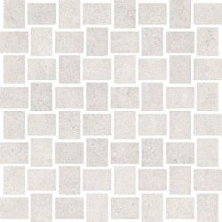 CERAMIKA KONSKIE prince white mosaic 30x30 szt g1