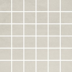 OPOCZNO concrete flower light grey mosaic 29,7x29,7
