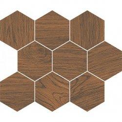 CERSANIT finwood ochra mosaic hexagon 28x33,7 g1 szt