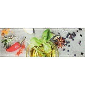 CERAMIKA KONSKIE prato glass kitchen 1 inserto 20x60 szt g1