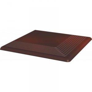 PARADYZ cloud brown stopnica narozna 30x30 g1