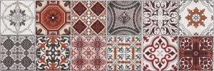 CERAMIKA KONSKIE milano patchwork  inserto 25x75 szt g1