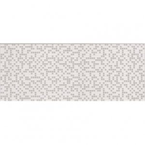 CERAMIKA KONSKIE alfa white inserto 20x50 szt g1