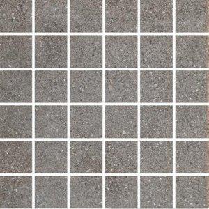 CERAMIKA KONSKIE leo graphite mosaic 33,3x33,3 szt g1