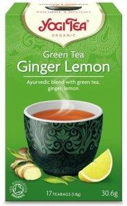 A725 Zielona imbirowo-cytrynowa GREEN TEA GINGER LEMON