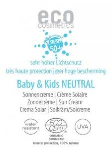 C477P Krem na słońce faktor SPF 50+ dla dzieci i niemowląt NEUTRAL 2 ml PRÓBKA