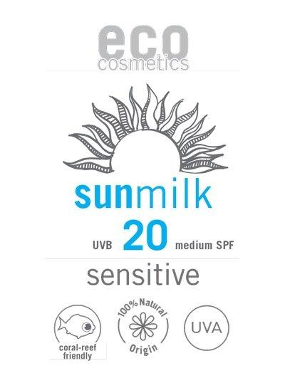 C516P Mleczko na słońce SPF 20 sensitive 3 ml PRÓBKA