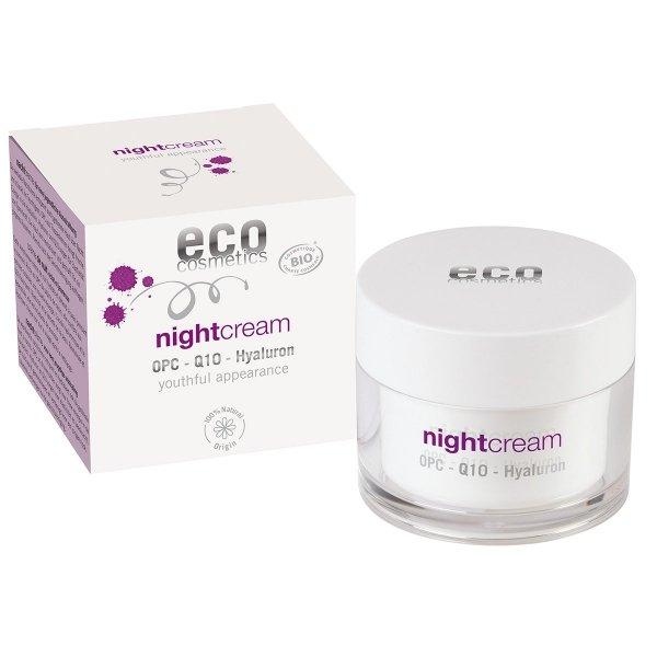 C0902 ECO NIGHT Krem na noc z OPC, Q10 i kwasem hialuronowym 50ml
