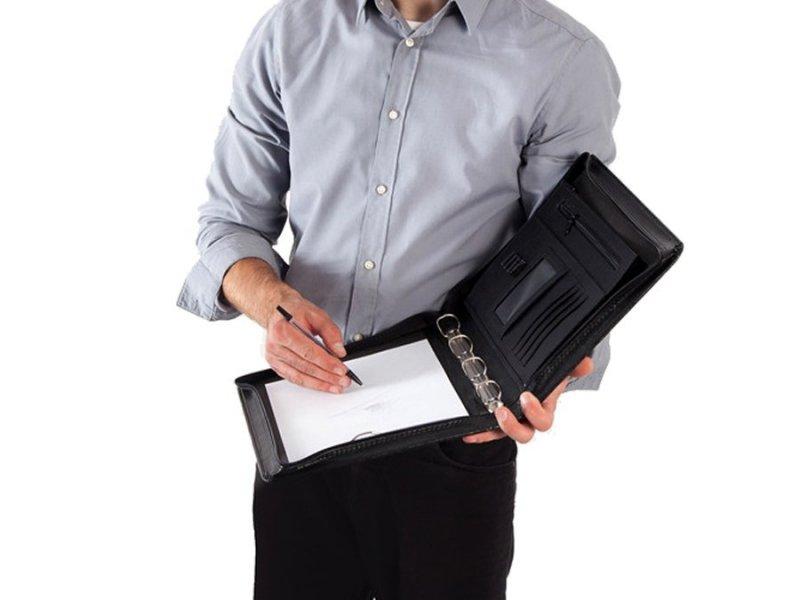 Aktówka teczka biwuar na dokumenty Solier ST01b