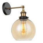LAMPA KINKIET ITALUX CARDENA MBM-4330/1 GD+AMB